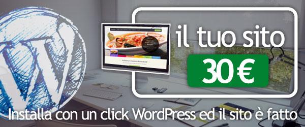 Installare un blog WordPress con Ormag.net e Installatron