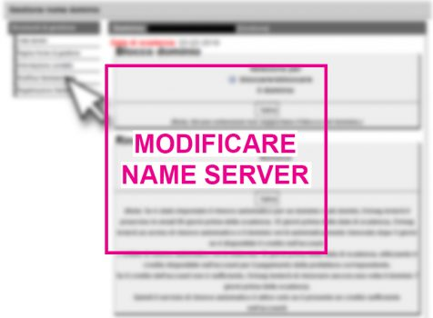 Come modificare i NS (Name Server) del tuo dominio