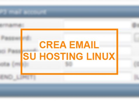 Come Creare una casella Mail (Server Linux)